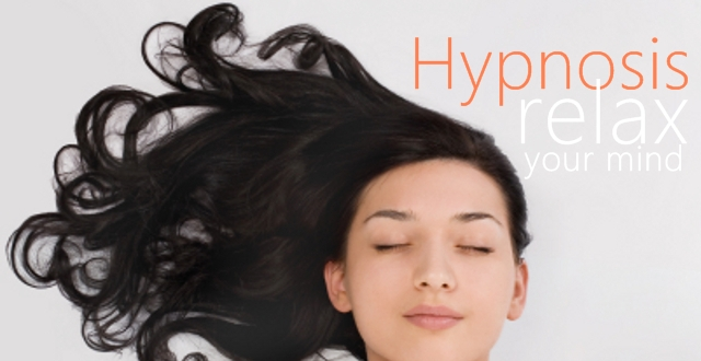Relax your mind with hypnosis